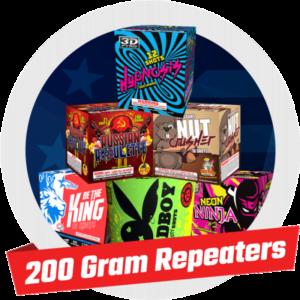 200 GRAM REPEATERS