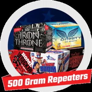 500 GRAM REPEATERS